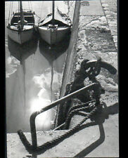 LA FLOTTE-en-RE / ILE DE RE (17) VOILIERS à l'AMARRE en 1962