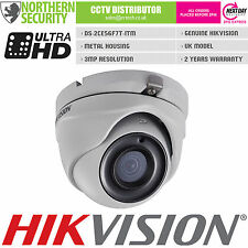 HIKVISION 3MP 1080P HD-TVI TURBO 2.8MM DOME WDR EXIR IP66 CCTV SECURITY CAMERA