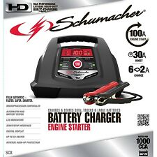 Schumacher SC8 2/6/30/100A 6/12V Automatic Car Battery Charger TRUCK MOTORCYCLE