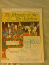 Music Book.The Parade of the Tin Soldiers by Leon Jessel 1911.