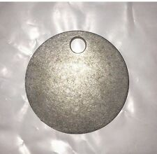 "AR500 3"" X 1/4"" Gong Hanger Steel Shooting Target NRA Action Pistol Plate"