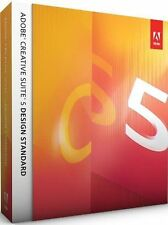 Adobe Photoshop CS5 + Indesign + Illustrator + MAC IE Vollversion Box Retail NEU