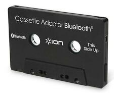 Ion Audio Bluetooth Cassette Adapter Black for Car Auto