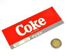 Vintage Coca-Cola Cavalier Máquinas expendedoras Etiqueta Etiquetado Signo de