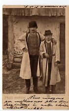 RUSSIE Russia Théme Types russes costumes personnages przed zagroda