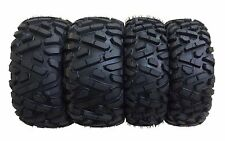 Set of 4  WANDA ATV/UTV Tires 25x8-12 Front & 25x10-12 Rear /6PR  -10163/10165