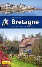 REISEFÜHRER Bretagne 2013/14 + LANDKARTE, Michael Müller Verlag, UNGELESEN