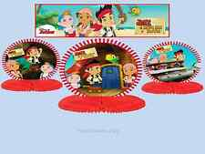3 Jake The Never land Pirates Mini Table Centrepiece Decorations Birthday Party