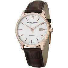 FREDERIQUE CONSTANT MEN'S CLASSICS INDEX 40MM BROWN AUTOMATIC WATCH FC-303V5B4