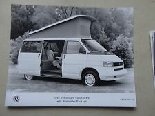 "8x10"" 1993 Press Photo of the Volkswagen EuroVan  MV w/ weekender package 745-93"