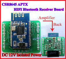 12V Mini CSR8645 APT-X Hifi Bluetooth 4.0 Receiver Board DIY f Amplifier Speaker