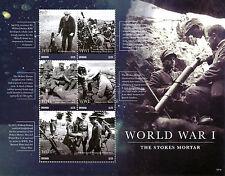 Grenada 2015 MNH prima guerra mondiale ho WWI Stokes Mortaio 5V M / S King George V