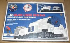Lionel new 7-12025  Lionel Little Lines New York Yankee train playset baseball