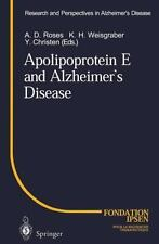 Apolipoprotein E and Alzheimer's Disease (Research and Perspectives in Alzheimer