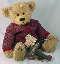 Boyds Mohair Bear FILLMORE M BEARINGTON *New With Tag* And Box #900200