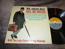 Mr. Acker Bilk, Call Me Mister