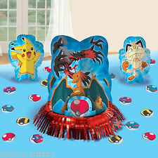 23 Piece POKEMON Children's Birthday Party Table Centrepiece Decorating Kit