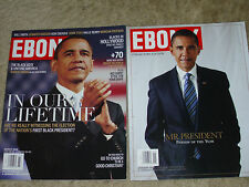 Lot EBONY MAGAZINE Collector's Editions BARACK OBAMA Mr. President / In Our Life