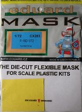 Eduard 1/72 CX283 Canopy Mask for the Kinetic F-16D Fighting Falcon kit