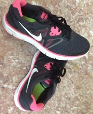 Nike Lunarglide 3 Girls Black Pink flash GS Sneakers Youth Size 7 Y. 454573-001
