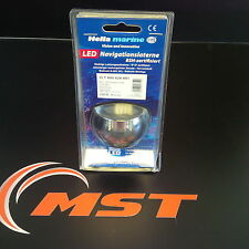 New Hella Marine 2NM Stern Navigation Light Black/Clear Lens - 2LT 980 520-501