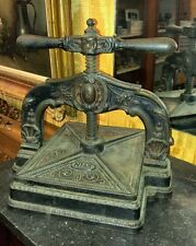 Antique Nias Ornate Book Press,