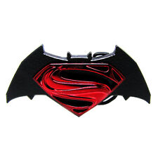 3D Comics Batman VS Superman Metal Belt Buckle Superhero Movie TV Logo Men Retro