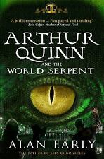 Arthur Quinn and the World Serpent (The Father of Lies Chronicles)-ExLibrary