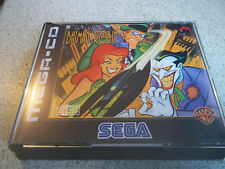 ADVENTURES OF BATMAN +ROBIN.SEGA MEGA CD PAL  CASE+INLAYS ONLY.NO GAME