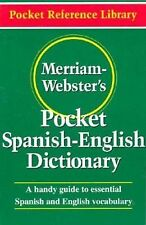 English to Spanish Translation Merriam-Webster's Dictionary Guide Paperback