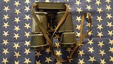 Swarovski Optik Habicht 7x42 Black Binoculars Austria Vintage Leather Strap