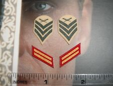 DiD 1/6 Scale USMC Ceremonial Honor Guard Tony Insignia Patches A80087