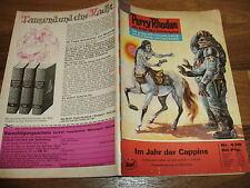 PERRY RHODAN  # 438 -- IM JAHR der CAPPINS / 1. Aufl. 1970+Reklame  GUCKY-Figur
