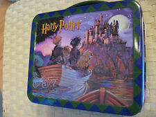 Hallmark 2000 HARRY POTTER & THE SORCERER'S STONE LUNCH BOX + COLLECTOR'S GUIDE