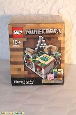 LEGO® Minecraft™ 21105 Micro World - The Village - NEU & OVP -