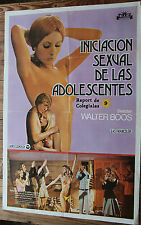 Used Cartel de Cine INVITACION SEXUAL DE LAS ADOLESCENTES  Movie Film Poster