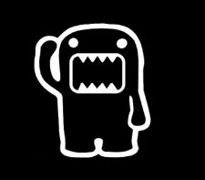Waving DOMO KUN JDM Funny Vinyl Decal Car window Sticker Euro Honda