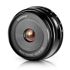 Neewer NW-E-28-2.8 28mm f/2.8 Manual Focus Prime Fixed Lens for SONY