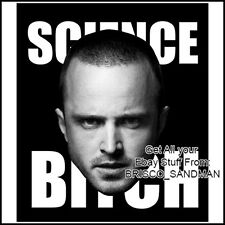 "Fridge Fun Refrigerator Magnet BREAKING BAD Face Jesse Pinkman ""Science Bitch"""