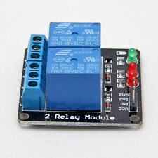DC 5V Indicator Light LED Two 2-Channel Relay Module for PIC AVR DSP Arduino ARM