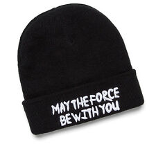 JIMI-OS-BK-SW: Star Wars May The Force Be With You Beanie