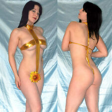 Escasos metalizado lackbody en oro brillante * S-L * WETLOOK stringbody o. opaca