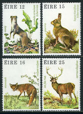 Ireland 480-483, MNH. Irish Ermine, Hare, Fox, Red deer, 1980