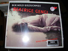 ZAGROSEK / ALEXANDER / GOLDSCHMIDT beatrice cenci - 2 cd box set - SEALED / NEW