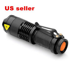 5000 Lumen Zoomable CREE Q5 R2 LED Flashlight Torch Zoom Lamp Light 3 Mode