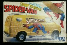 Marvel Spider-Van MPC Model WANTED DODGE VAN Kit 1-3205