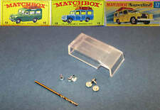 MATCHBOX 12 Land Rover Safari Window Unit + Drill Rivets & Screws RW & Superfast