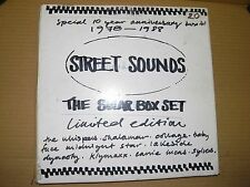 The Solar Box Set -Street Sounds 8 x Rare White Label Test Pressings -Mint Vinyl