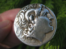 Greek silver coin Alexander the Great Tetradrachm 16.92g, Lysimachus, 298-281BC