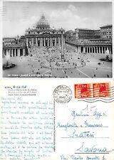 Roma - Piazza e Basilica S. Pietro ANNO 1947 VIAGGIATA SAVONA (I-L 091)